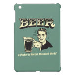 Beer: A Pitcher Is Worth 1000 Words iPad Mini Covers