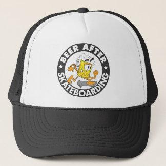 Beer After Skateboarding Trucker Hat