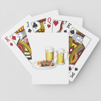Beer And Barbecue Playing Cards
