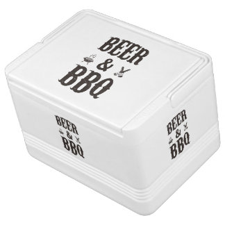 Beer and BBQ Igloo Cool Box