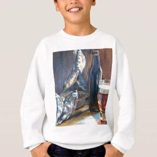 Beer and fish sweatshirt
