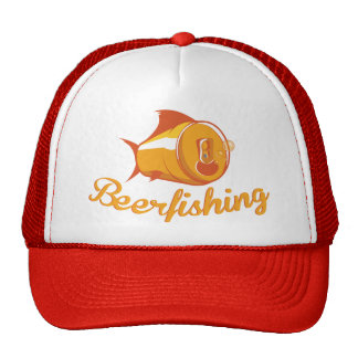 Beer and Fishing Cap