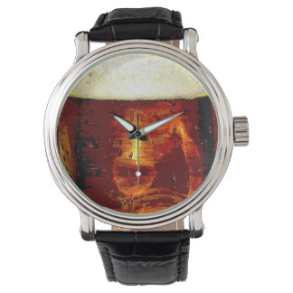 Beer and Foam Wristwatches