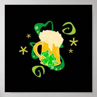 Beer and Irish Cheer Print