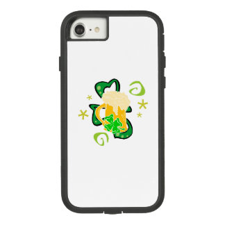 Beer and Irish Shamrock Case-Mate Tough Extreme iPhone 8/7 Case