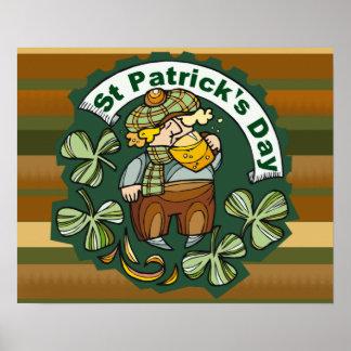Beer and Irishman Poster