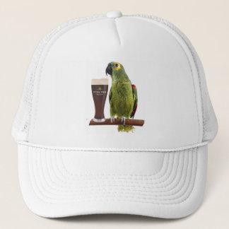 Beer and Parrot Trucker Hat