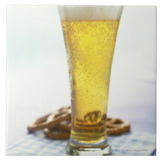 Beer and pretzels tile