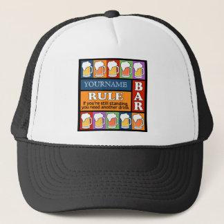BEER Bar Pop Art custom hats
