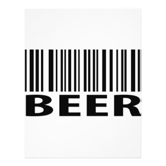 beer barcode label icon personalized flyer