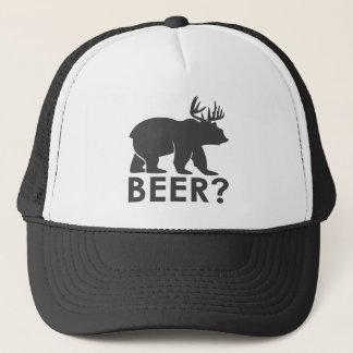"beer  bear black & white hat Lighthouse Route"""