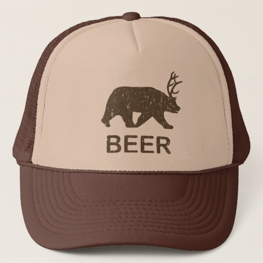Beer Bear Deer Trucker Hat  2212409d2fa