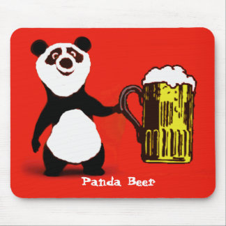 Beer Bear Mouse Mat