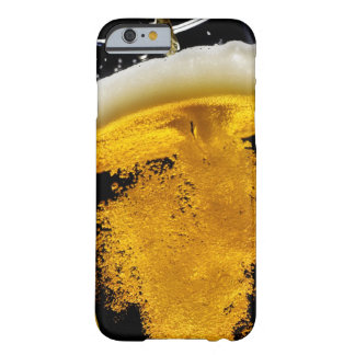 Beer been poured into glass, studio shot barely there iPhone 6 case
