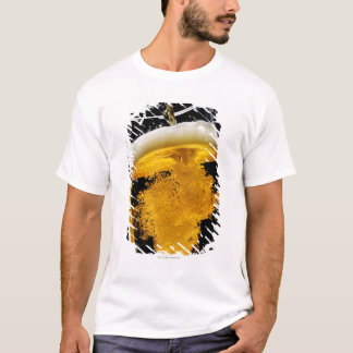 Beer been poured into glass T-Shirt