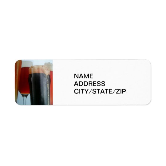 BEER BEER BEER ADDRESS LABEL