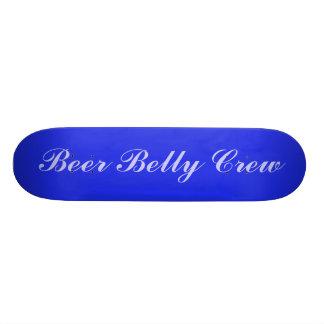 Beer Belly Crew 18.4 Cm Mini Skateboard Deck