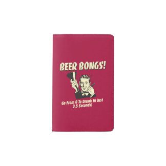 Beer Bongs: Go From 0 To Drunk In 3.5 Pocket Moleskine Notebook