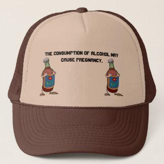 Beer-Bottle, Beer-Bottle, The consumption of al... Trucker Hat