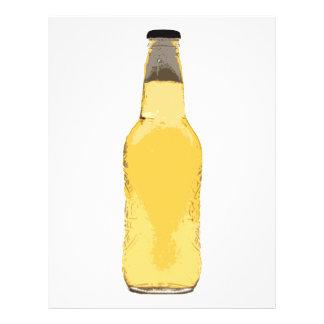 Beer Bottle Custom Flyer