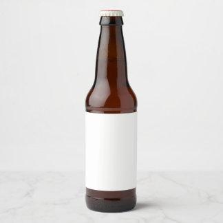 Beer Bottle Label Sticker