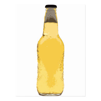 Beer Bottle Postcard