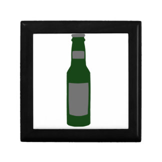 Beer Bottle Small Square Gift Box