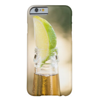 Beer bottle with lime wedge barely there iPhone 6 case