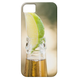Beer bottle with lime wedge iPhone 5 cover