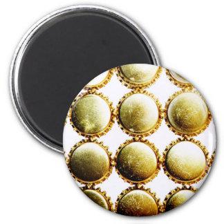 Beer Bottlecap Bling 6 Cm Round Magnet