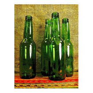 Beer Bottles Postcards