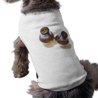 Beer Bottles Sleeveless Dog Shirt