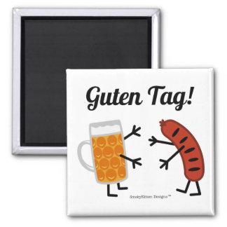 Beer & Bratwurst - Guten Tag! Magnet