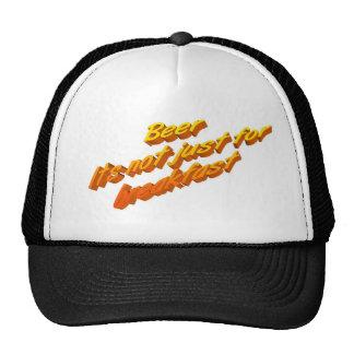 beer-breakfast trucker hat