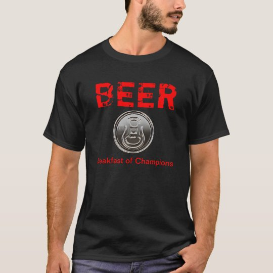 Beer, Breakfast of Champions funny shirts