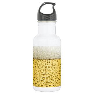 Beer Bubbles Ale Amber Drink 532 Ml Water Bottle