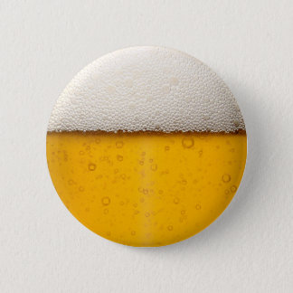 Beer Bubbles Close-Up 6 Cm Round Badge