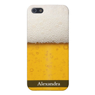 Beer Bubbles Close-Up iPhone 5 Covers