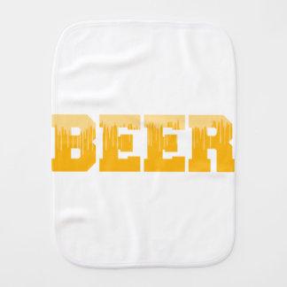 BEER BURP CLOTH