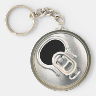 beer can top open drink metal container key ring