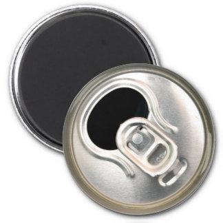 beer can top open drink metal container magnet