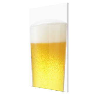 Beer Stretched Canvas Print