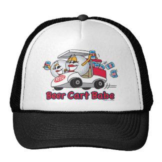 Beer Cart Babe Golf Tournament Cap