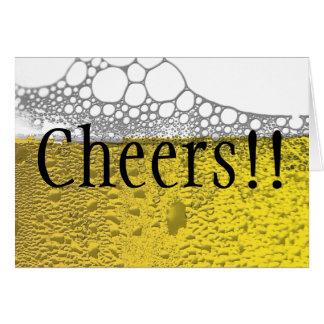 Beer Celebration Card