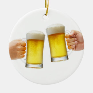 ***BEER CHEERS*** CHRISTMAS ORNAMENT