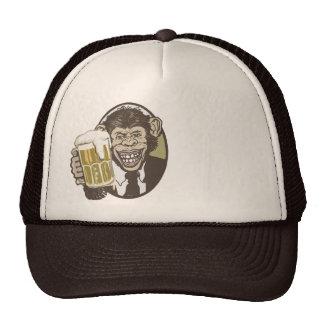 Beer Chimp by Mudge Studios Trucker Hat