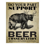 Beer Conservation Poster