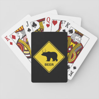 Beer Crossing Playing Cards