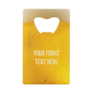 BEER custom bottle opener