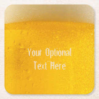BEER custom coasters